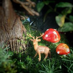 Found this little guy in a fairy garden. We have most of the supplies for our first kits. Our team will be assembling everything over the next two weeks. Can't wait to show them off to everyone! Keep an eye out for a giveaway.  #miniatureplasticdeer #art #kids #startup #fun #nature #christmas #cool #mom #crafty #crafts #crafting #giveaway #mini #deer #craftkit
