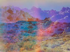 terri loewenthal Psychscape 18 (Banner Ridge, CA), 2017