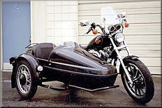 Honda Rebel W/Velorex Sidecar ! Would love to take my teenage son to school on this.
