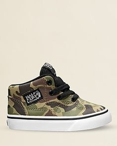 Vans Boys' High-top Camouflage Sneakers - Walker, Toddler | Bloomingdale's
