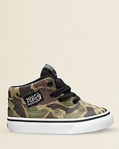 Vans Boys' High-top Camouflage Sneakers - Walker, Toddler | Bloomingdale's