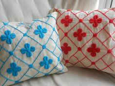 Almohadones bordados a mano - Almohadones - Casa - 493985