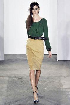 Costello Tagliapietra Spring 2009 Ready-to-Wear Fashion Show - Amanda Laine