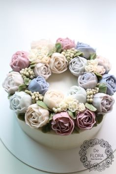 [FlowerCake] Elegance Flower cake/서울논현플라워케이크 : 네이버 블로그