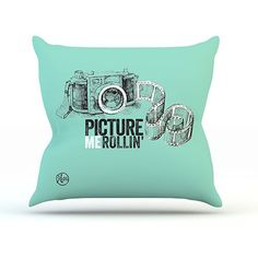 graphic pillows | GRAPHIC CAMERA PILLOW - TIFFANY DREAMS-Backdrop Outlet Our new Graphic ...
