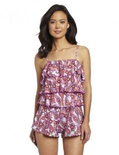FIT 4 U Paisley Tiered Romper Swimsuit Pink Paisley $89.99 SHIPPED FREE~~~ALSO FREE LOCAL DELIVERY NOW AVAILABLE WITHIN 10 MILES OF SANTA MONICA, CALIFORNIA ZIP CODE 90404~~~ WEBSITE: www.seabaylakehome.com