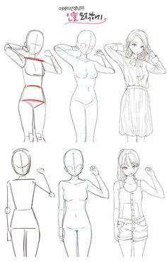 Manga Drawing Tips Body Drawing Tutorial, Manga Drawing Tutorials, Manga Tutorial, Sketches Tutorial, Drawing Techniques, Drawing Reference Poses, Drawing Poses, Drawing Ideas, Drawing Hands