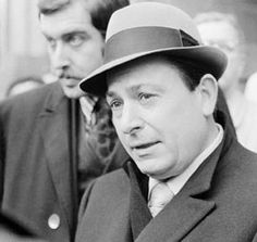 """Joseph Colombo, boss of the Colombo crime family from 1963-1971 (one of the """"Five Families"""" in New York)"""