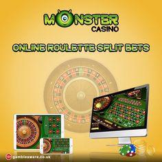 Know more about Online Roulette & the Split Bets technique at Monster Casino! #casinoslots #slotmachine https://www.monstercasino.co.uk/blog/online-roulette-split-bets/
