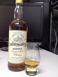 Drayman's Single Malt Whisky South African Whisky September 2012
