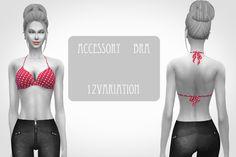 #Sims4   Chiisims   Accessory bras