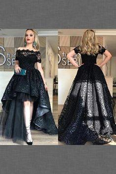 Short sleeve Evening Dresses #ShortsleeveEveningDresses, Evening Dresses 2018 #EveningDresses2018, Lace Prom Dresses #LacePromDresses, Black Lace Evening Dresses #BlackLaceEveningDresses, Black Prom Dresses #BlackPromDresses Prom Dresses 2019 Fancy Prom Dresses, Short Sleeve Prom Dresses, Prom Dresses 2018, Black Wedding Dresses, Pageant Gowns, Dress Prom, Short Sleeves, Formal Dresses, Bridesmaid Dresses