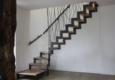 Escaliers corde