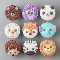 Likes, 11 Kommentare - Sweets Certified ( auf Inst . Animal Cupcakes, Fun Cupcakes, Cupcake Cookies, Amazing Cupcakes, Cute Food, Yummy Food, Kreative Desserts, Cute Baking, Kawaii Dessert