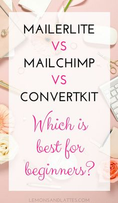 Are you trying to decide between Mailchimp vs Convertkit vs Mailerlite? Here are my reasons for sticking with Mailerlite and why it's perfect for beginners!