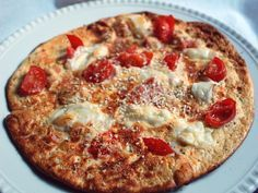 Dukan Diet approved pizza--not for attack phase or pure protein days.