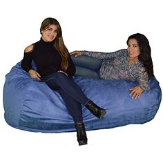 Cozy Sack 6Foot Large Bean Bag Chair with 48 Lbs Foam -- You can find out more details at the link of the image.