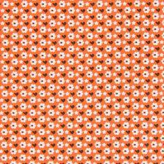 Baumwollstoff Dorina 2 - rotorange - Kinder Dekostoffe- stoffe.de