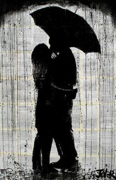"Saatchi Online Artist Loui Jover; Drawing, ""last goodbye"" #art"