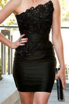The little black dress!