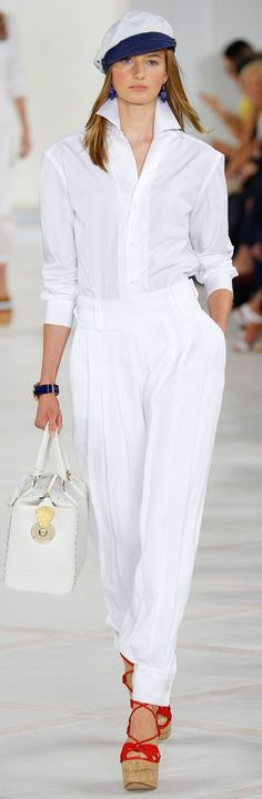 NYFW : d��fil�� Ralph Lauren Collection Printemps 2016