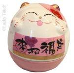 Lucky Cat Feng Shui roze