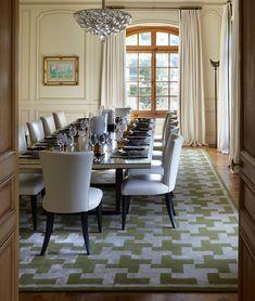 INTERIOR DESIGN > HOUSES ABROAD > Lake Geneva – Todhunter Earle