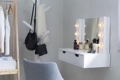 Home Bedroom, Bedroom Decor, Small Bedroom Storage, Girls Room Design, Bathroom Design Small, New Room, Room Interior, Girl Room, Furniture Decor