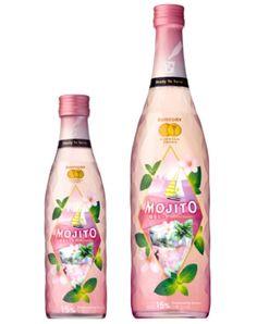 お花見、女子会にもぴったり!桜の香りが広がるお酒「桜モヒート」