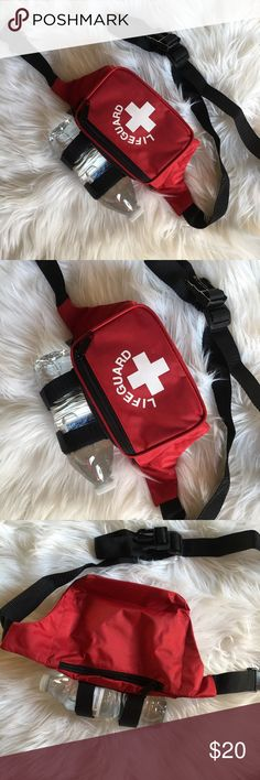 Fanny pack New Red lifeguard Fannypack. Supper cute for a costume or just to wear. Make an offer :) Bags Mini Bags
