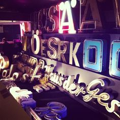 Want neon letters for my walls.