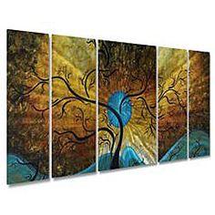 Megan Duncanson 'Sun Tree' Metal Wall Art