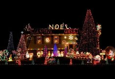noel greeting for house in the roof top design for christmas day