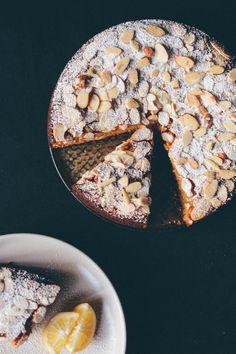 Meyer lemon almond cake | Scaling Back