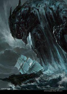 monster in deep