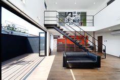 黒い外観の家・間取り(大阪府豊中市) | 注文住宅なら建築設計事務所 フリーダムアーキテクツデザイン