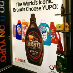 Thanks to all who stopped by to see #YUPO at #labelexpo2016