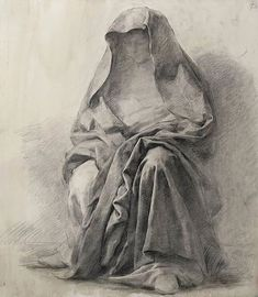Now onto uploading stuff. Folds and Drapery assignment. charcoal on toned paper Drawing was acquired to… Drapery Drawing, Fabric Drawing, Painting & Drawing, Human Anatomy Drawing, Anatomy Art, Art Studio Design, Academic Art, Hippie Art, Classical Art