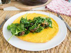 vegan egg omelette