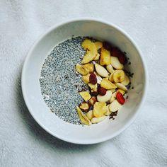 Mon #chiapudding du petit-déjeuner  Belle journée à tous ! #breakfast #chia #healthy #petitdejeuner #morning #matin