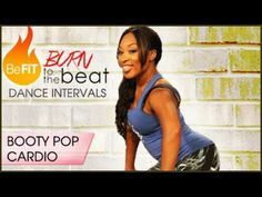 Burn to the Beat Dance Intervals: Booty Pop Cardio Dance Workout- Keaira LaShae - YouTube