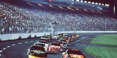 The Winston at Charlotte in 1992 revolutionized NASCAR by introducing night racing to a larger track. (Charlotte Motor Speedway)