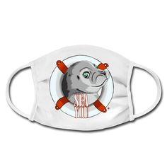 Die Rettung naht - die kleine Robbe freut sich dich am Meer wiederzusehen. Diese Motiv ist für alle die Sehnsucht nach dem Meer haben und unbedingt wieder dorthin müssen. Shirt Designs, Am Meer, Illustration, Snoopy, Fictional Characters, Art, Protective Mask, Longing For You, Graphics