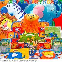 Party Items Backdrop Centerpieces Safari Theme PartyJungle ThemeLion CakesParty Items1st BirthdaysCenterpiecesCenter