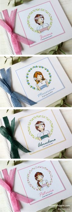 Libros de firmas Comunión Personalizados #recordatorioscomunion #recordatorioscomunionpersonalizados #librosfirmascomunion #libroscomunionpersonalizados #comunion #primeracomunion #comunion2019 #papeleriapersonalizada Baby Baptism, Christening, First Communion, 8th Birthday, Gift Wrapping, Scrapbook, Crafts, Ideas, First Holy Communion