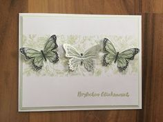 Crafting madness: Butterflies meet on truly vintage flower tendril Butterfly Crafts, Vintage Butterfly, Flower Crafts, Vintage Crafts, Vintage Paper, Paper Butterflies, Homemade Cards, Stampin Up Cards, Making Ideas