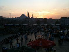 Istanbul sunset
