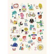 ABC Poster Helen Dardik, nu via www.dreumesenzo.nl voor € 17,95.
