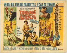 Drums of Africa Movie Poster