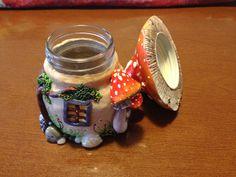 Vasetto fairy house. Fimo